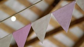 Papper sjunker garnering stock video