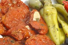 papper y tomate Imagen de archivo libre de regalías