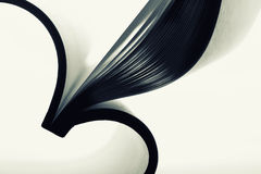 Pappers- abstrakt begrepp Arkivfoton
