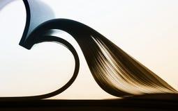 Pappers- abstrakt begrepp Royaltyfri Bild