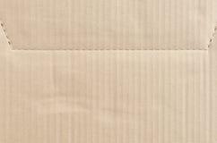 Pappers- ark för brunt papper för textur Royaltyfri Foto