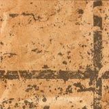 Pappers- bakgrund för Grunge med utrymme för text eller bild. Planlagd nolla Royaltyfria Bilder