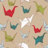 Pappers- fågel royaltyfri illustrationer