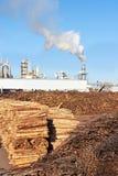Pappers- fabrik Royaltyfri Bild