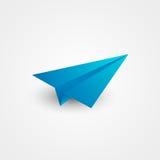 Pappers- flygplan vektor illustrationer