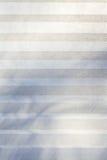 Pappers- gardin Vit textur med band Arkivfoto
