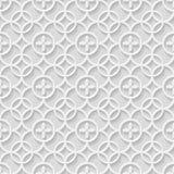 Pappers- grå sömlös modell Arkivbilder
