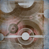 Pappers- Grunge texturerar, tappningbakgrund Arkivbilder