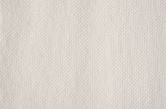 Pappers- handduk för vit Royaltyfri Fotografi