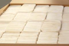 Pappers- handdukar Arkivfoton