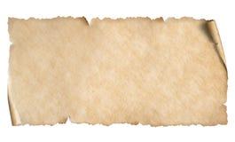 Pappers- horisontalark f?r smal tappning som isoleras p? vit arkivfoton
