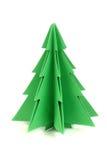 Pappers- julträd Arkivfoton