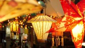 Pappers- lampa Royaltyfria Foton