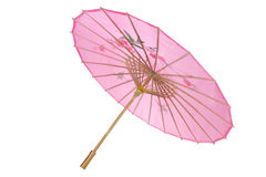 Pappers- paraply Fotografering för Bildbyråer