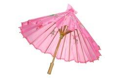 Pappers- paraply Arkivbild