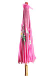 Pappers- paraply Royaltyfria Bilder