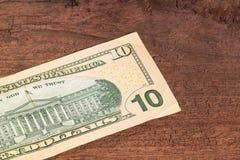 Pappers- pengar royaltyfria bilder