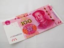Pappers- pengar för RMB Royaltyfri Fotografi