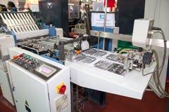 Pappers- printing arkivfoton