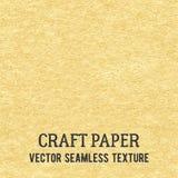 Pappers- sömlös vektortextur för hantverk stock illustrationer