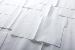 Pappers- servett Arkivfoton
