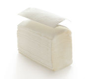 Pappers- servetter och handdukar Arkivfoto