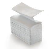 Pappers- servetter och handdukar Royaltyfri Bild