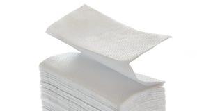 Pappers- servetter och handdukar Royaltyfri Fotografi
