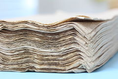 Pappers- silkespapper Royaltyfri Fotografi