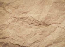 Pappers- textur - brunt papper Fotografering för Bildbyråer