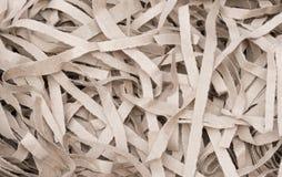Pappers- textur - brunt papper Arkivfoto