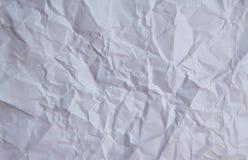 Pappers- textur, för vit papperstextur katastrofalt Arkivbild