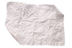 Pappers- textur. Vitbokark. Royaltyfria Bilder