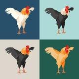 Pappers- tuppar stock illustrationer