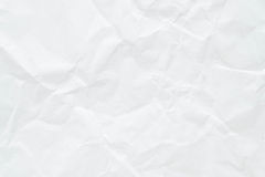 Pappers- vit textur Royaltyfri Bild
