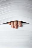 pappersbunt Arkivfoto