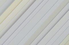 Pappersprövkopior med olika texturer Arkivfoto