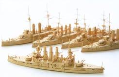 pappersships Royaltyfri Bild
