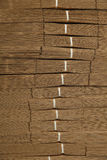 Pappstapel auf Wellpappenbeschaffenheit Stockfoto