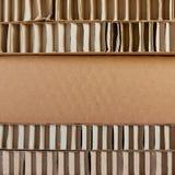 Pappverpackung Stockbild
