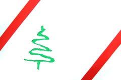 Pappweihnachtsbaum Stockbild