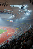 Papralympic stadium. Inside the national stadium(also named as Bird's nest ) of the Beijing 2008 Paralympic Games Stock Photography