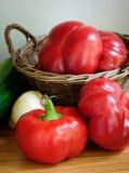 Paprica organica del peperone dolce fotografia stock libera da diritti