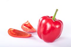 Paprica rossa Immagini Stock