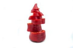 Paprica rossa del segnalatore acustico Immagini Stock