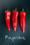 Paprika Imagen de archivo libre de regalías