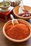 Paprika chaud Image libre de droits