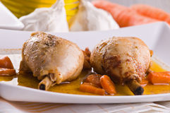 Paprika Chicken Drumsticks. imagem de stock royalty free