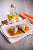 Paprika Chicken Drumsticks. foto de stock royalty free