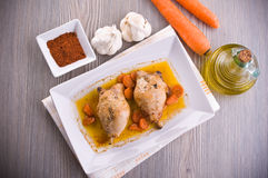 Paprika Chicken Drumsticks. Royalty Free Stock Photo
